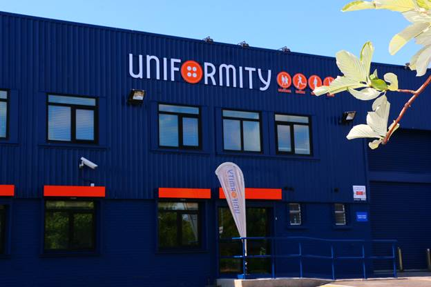 Uniformity building front