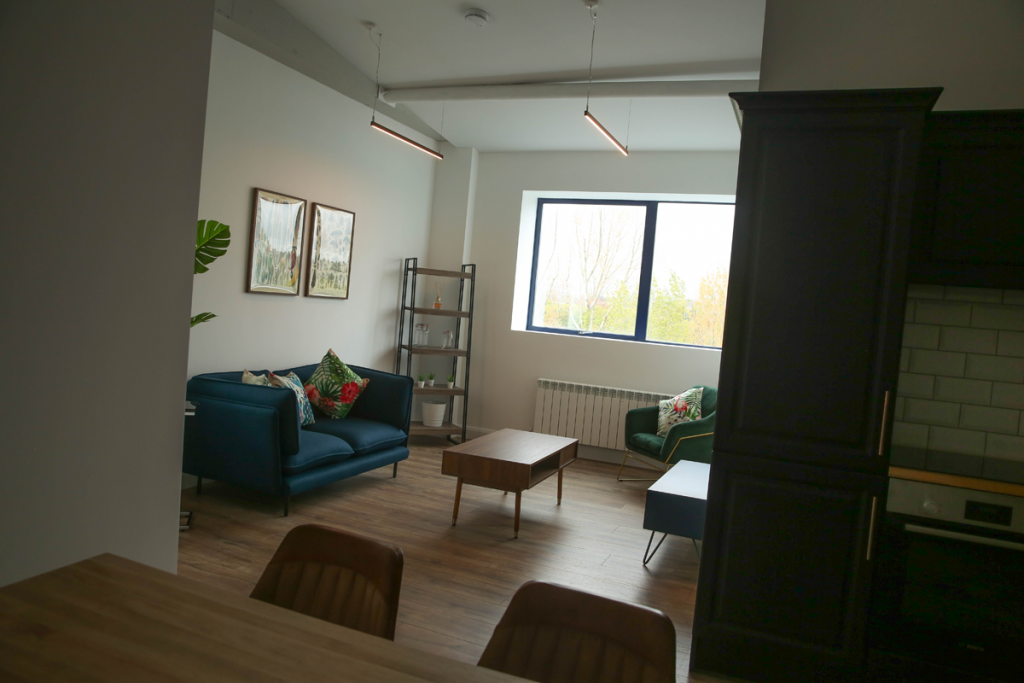 Creighan Contracts sitting room fitout
