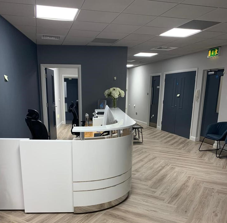 Creighan Contracts reception fitout