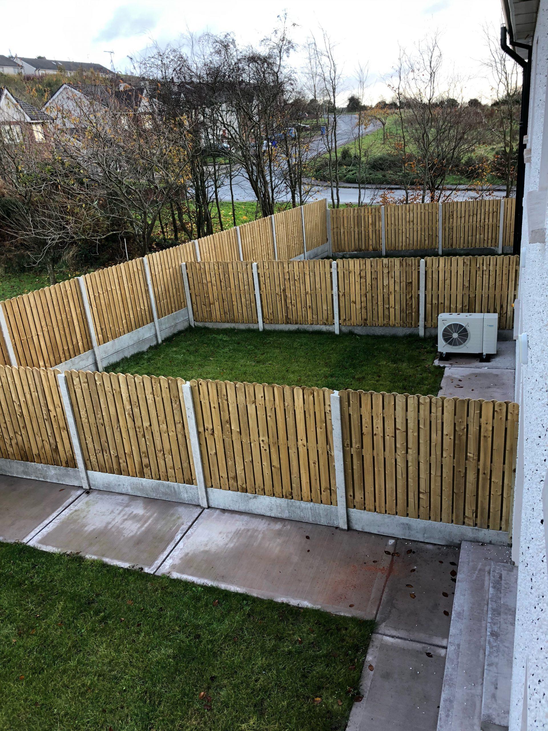 Creighan Contracts back garden
